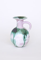Alice Cheng Studio Pink Forest Ceramic Pitcher