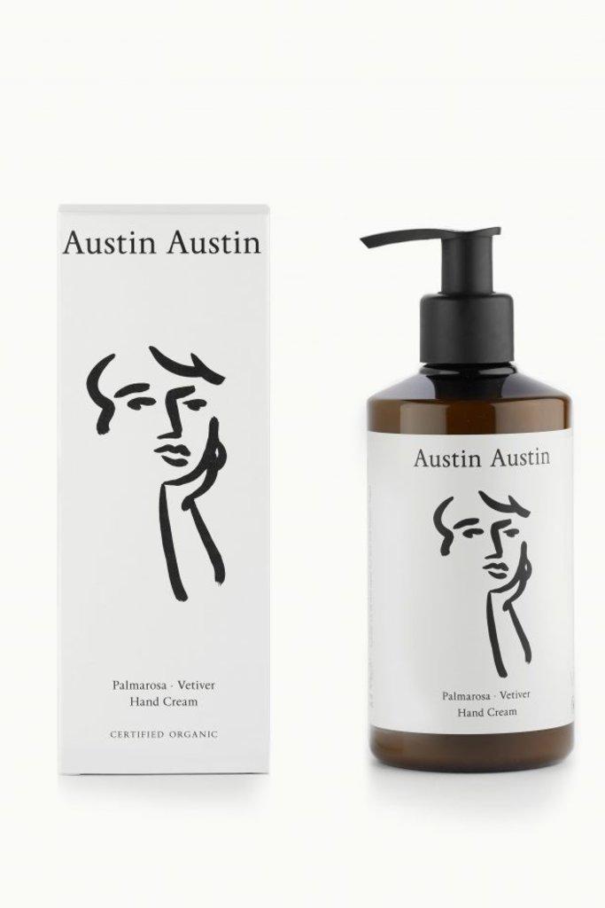 Austin Austin Palmarosa & Vetiver Organic Hand Cream