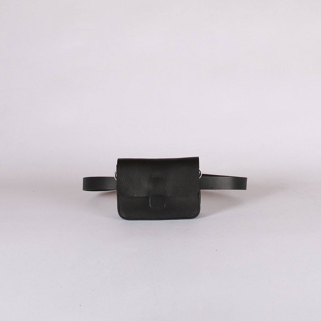 Kate Sheridan Leather Mini Tab Belt Bag