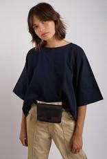 Kate Sheridan Leather Mini Tab Belt Bag - Multiple Colors