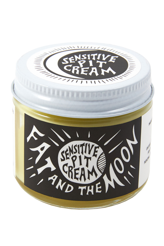 fat & the moon Sensitive Pit Cream Natural Deodorant 2 oz.