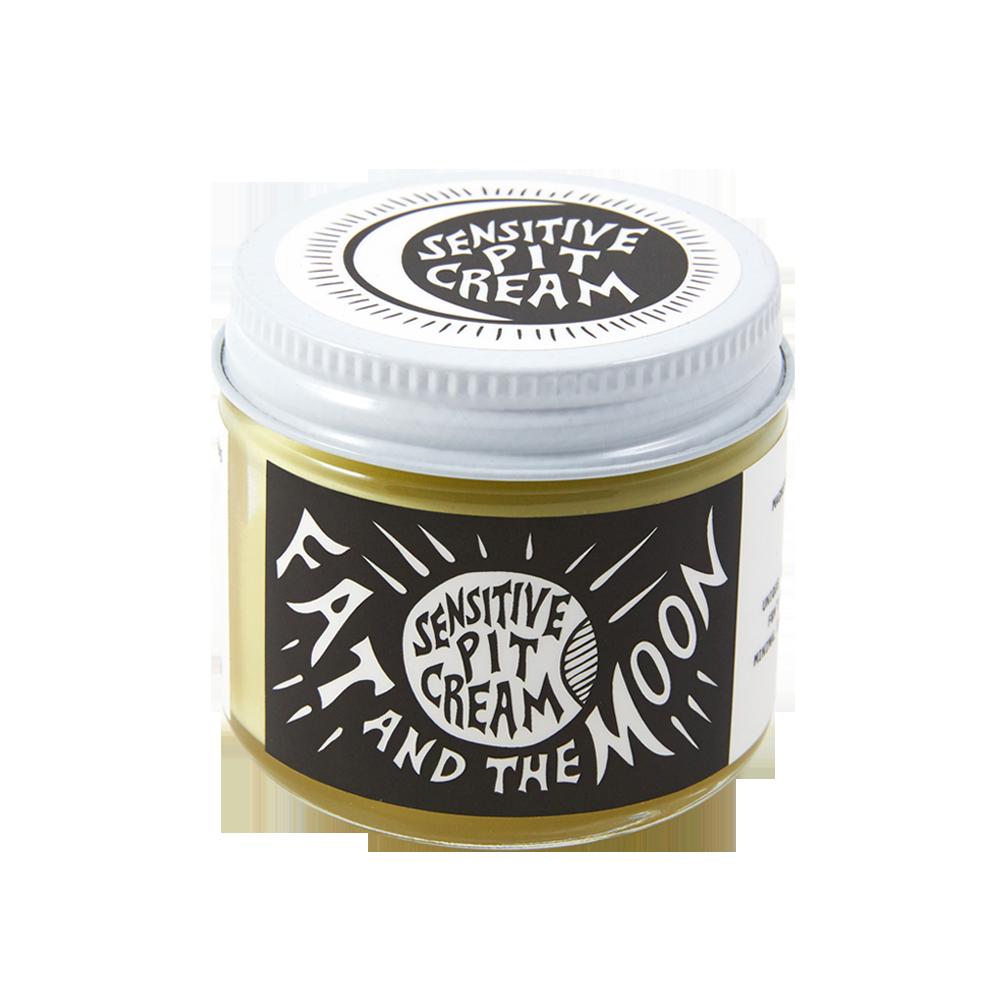 fat & the moon Sensitive Pit Cream Natural Deodorant 2 oz.