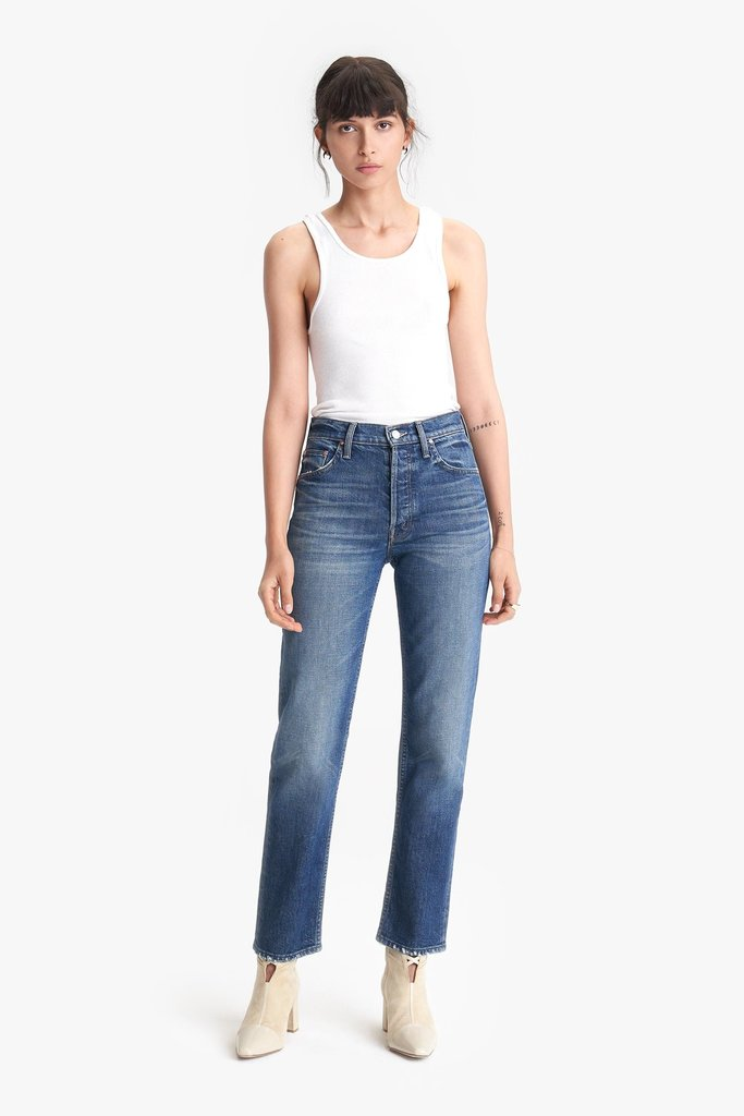 Mother Mother Tomcat Ankle Straight Leg Jeans