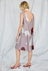 Eve Gravel Eve Gravel Bardane Sleeveless Abstract Print Dress
