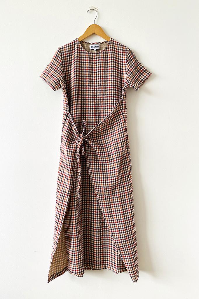 Rita Row Rita Row Verita Check Dress