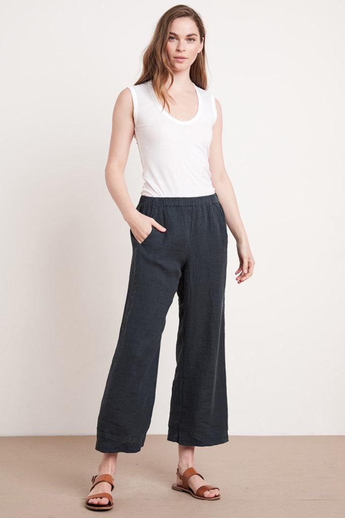 Velvet Velvet Lola  Wide Leg Linen Pants