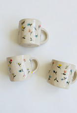 Alice Cheng Studio Hand Painted Garden Mugs