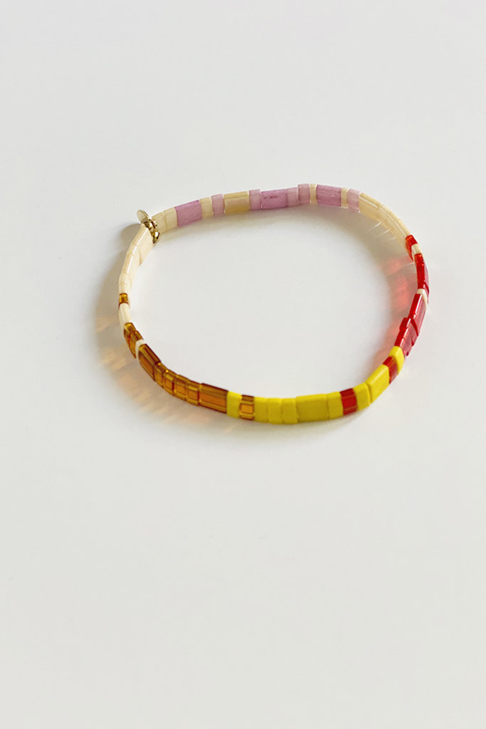 Tilu Multicolor Beaded Bracelet