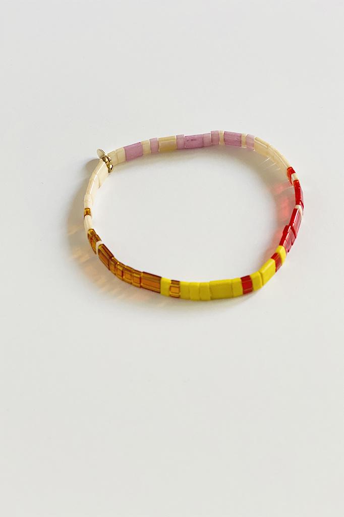 Tilu Multicolor Beaded Bracelet
