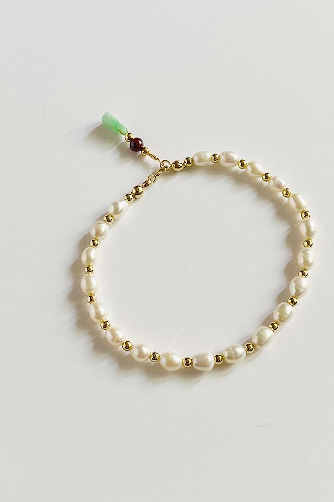 Et Toi Et Toi Ava Pearl Bracelet