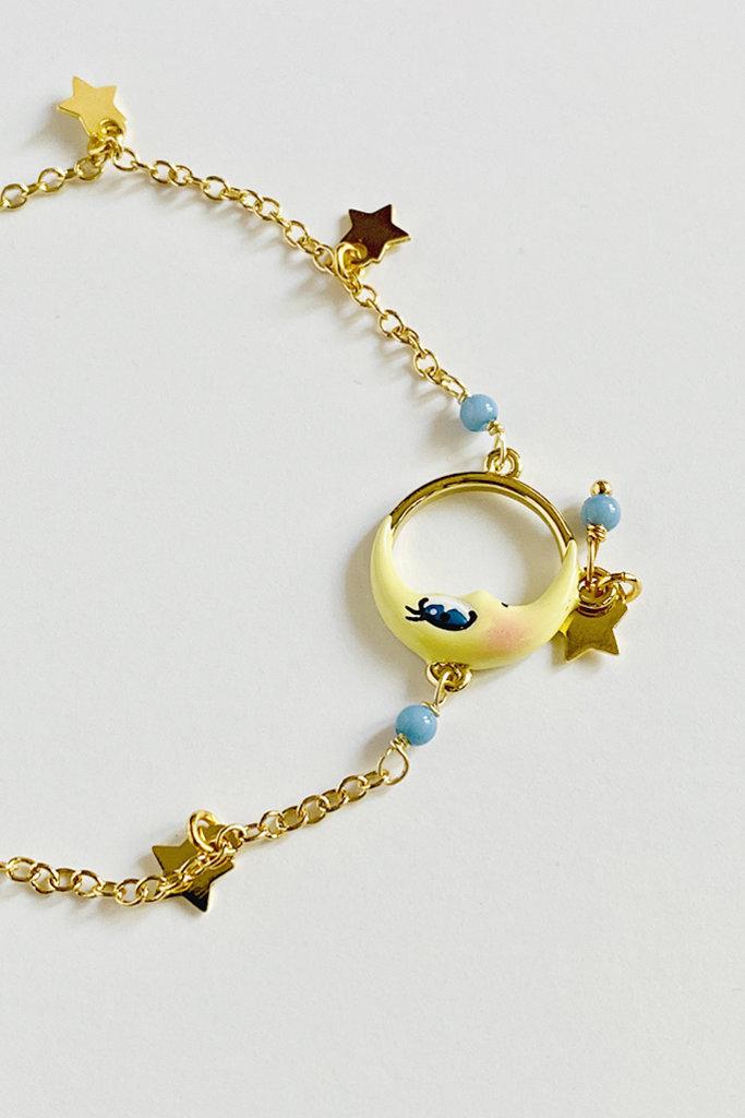 Les Nereides Les Nereides Moon & Stars Bracelet