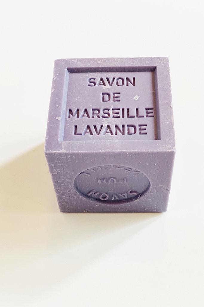 Marseille Soap Company Marseille Soap Large Cube Lavender