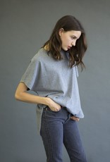It Is Well L.A. Boxy Speckle Tee with Slits