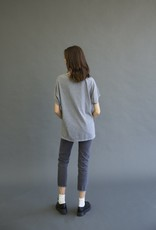 It Is Well L.A. Boxy Speckle Tee - size Small