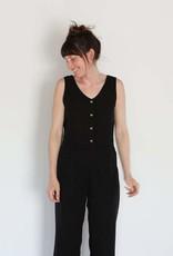 Me & Arrow Me & Arrow Tank Vest in Black - Size XS