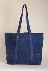 Fleabags Fleabags Small East West Tote in Dark Indigo