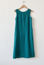 Me & Arrow Me & Arrow Sleeveless Dress in Teal