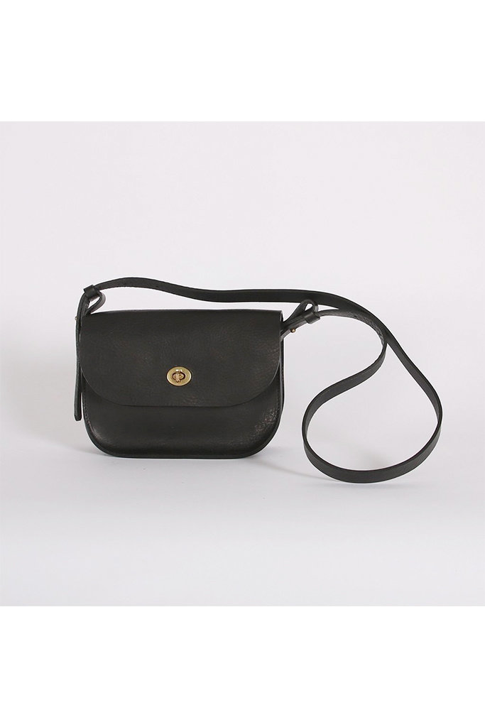 Kate Sheridan Ltd Kate Sheridan Black Lock Shoulder Bag