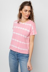 Rails Rails Roman Tee in Pink and White Tie Dye