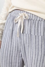 Rails Linden Drawstring Pants in Striped Linen Blend