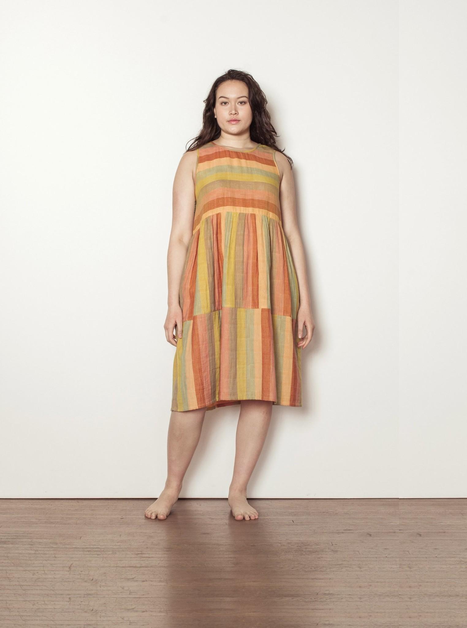 Ace & Jig Ace & Jig Teasdale Striped Cotton Gauze Dress