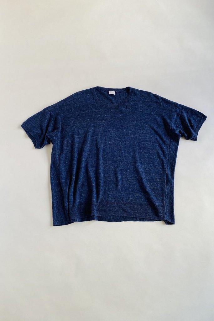 CT Plage CT Plage Navy Linen Sweater
