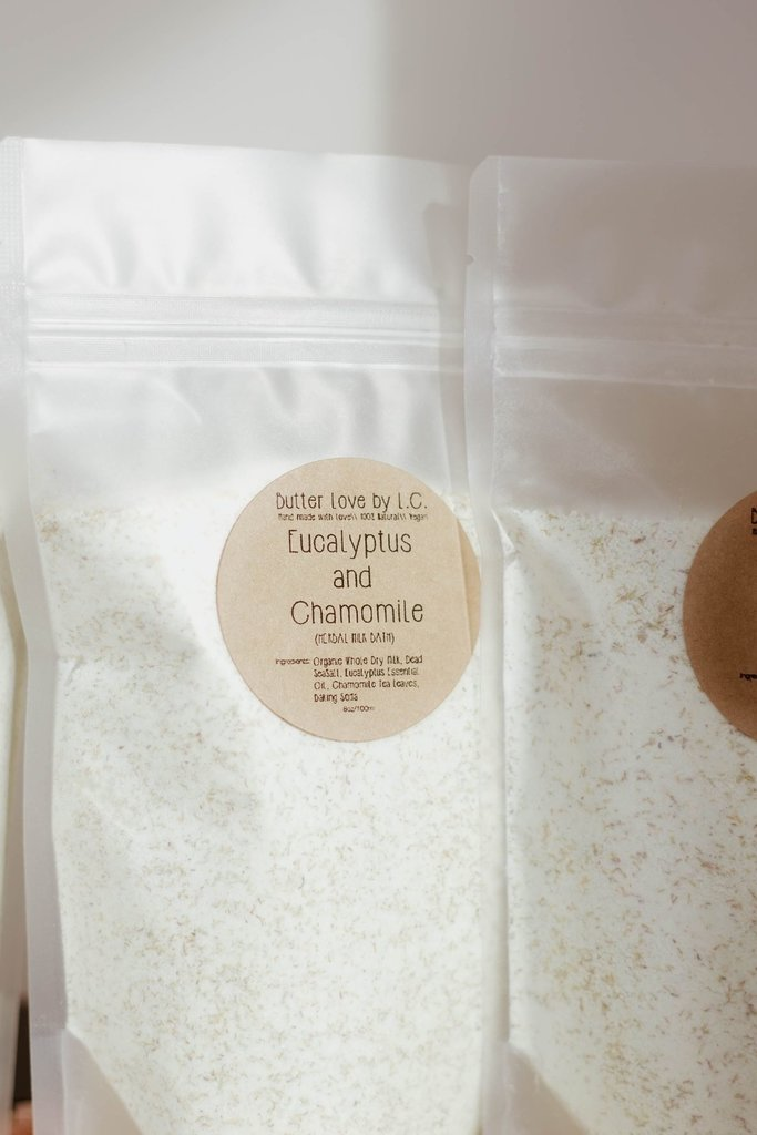 Butter Love by L.C. Eucalyptus and Chamomile Milk Bath