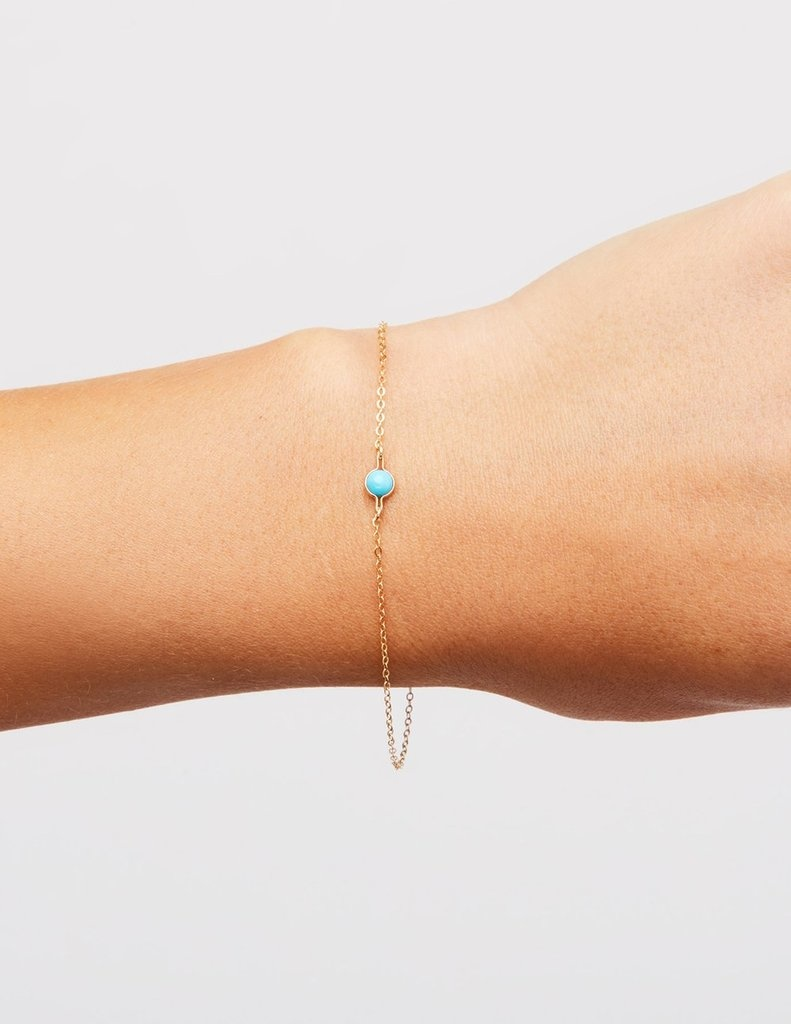 Kindred Row Kindred Row Saturn Bracelet Turquoise