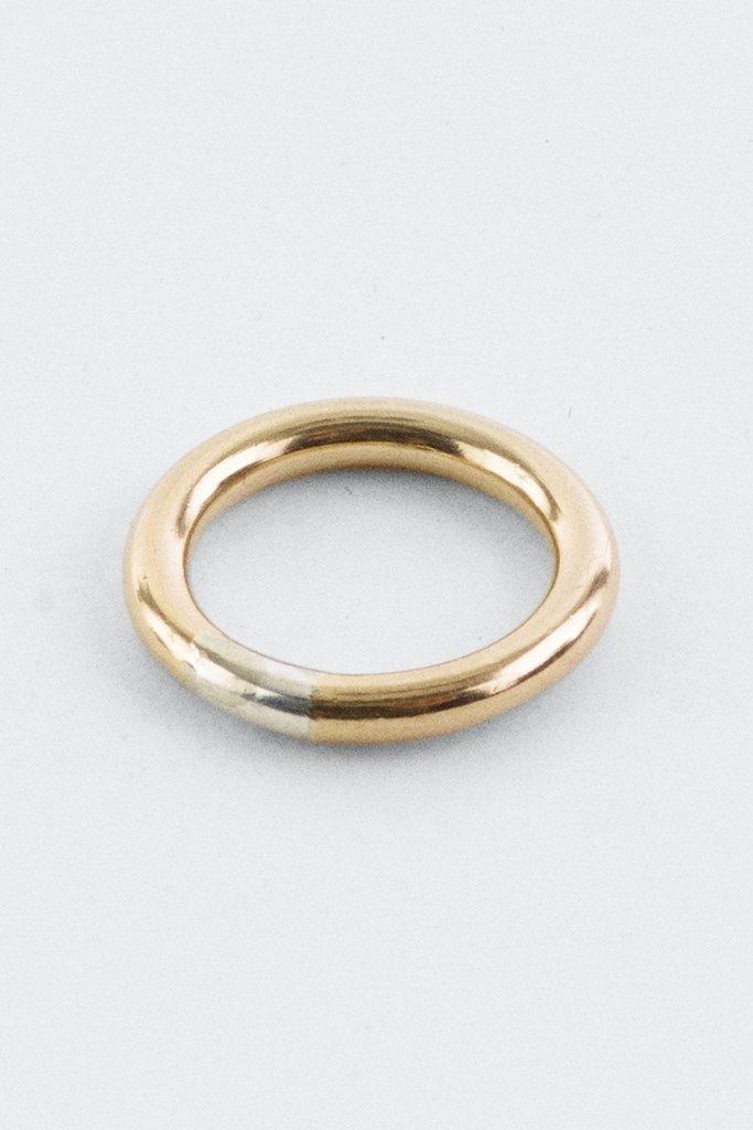 Annika Innez R98 Ring Gold Fill/Sterling Silver