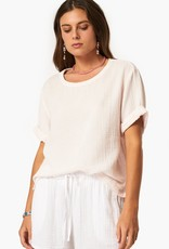 Xirena Xirena Cotton Gauze Savoy Top