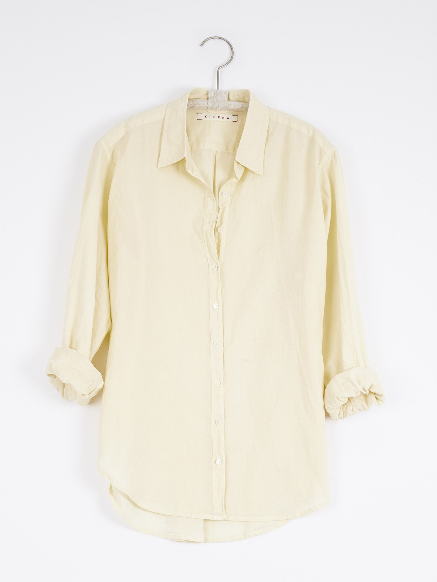 Xirena Xirena Beau Relaxed Cotton Poplin Button-Up Shirt - Multiple Colors