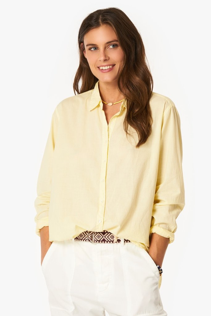 Xirena Xirena Beau Relaxed Cotton Poplin Button-Up Shirt - Multiple Colors