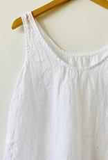 CP Shades CP Shades Sia White Linen Tank Top