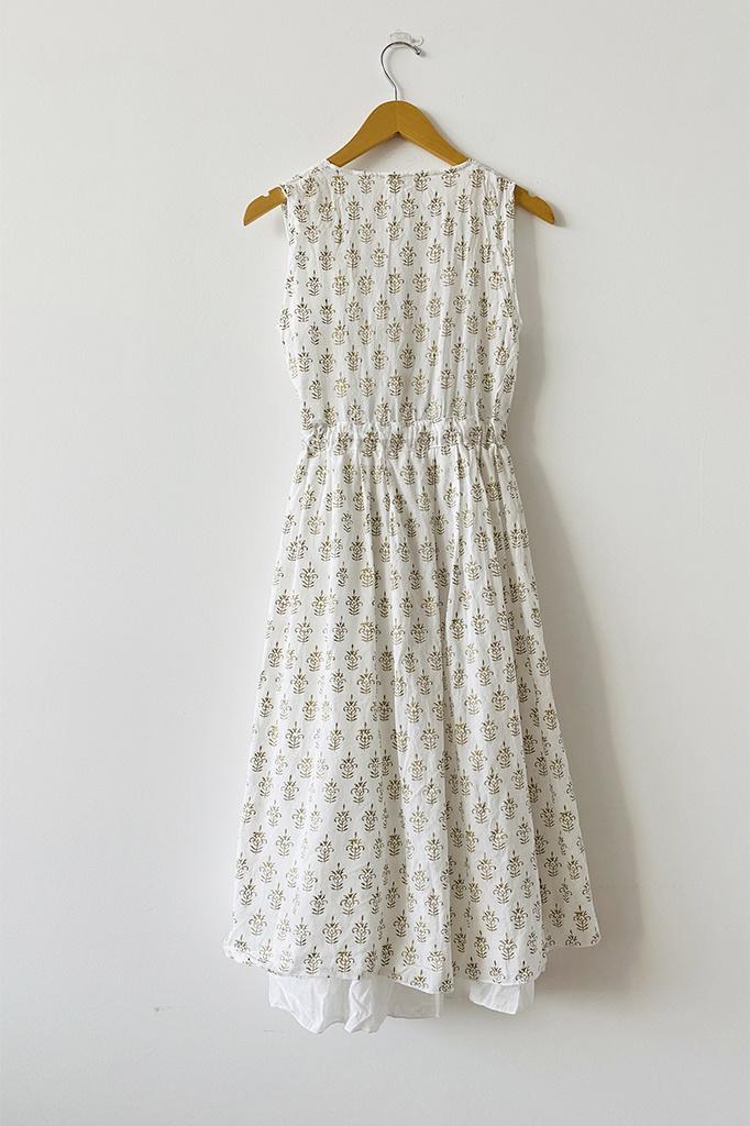 CP Shades CP Shades Julia Tie Waist Cotton Dress