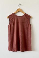 Diega Toro Knitted Linen Tank Top - M