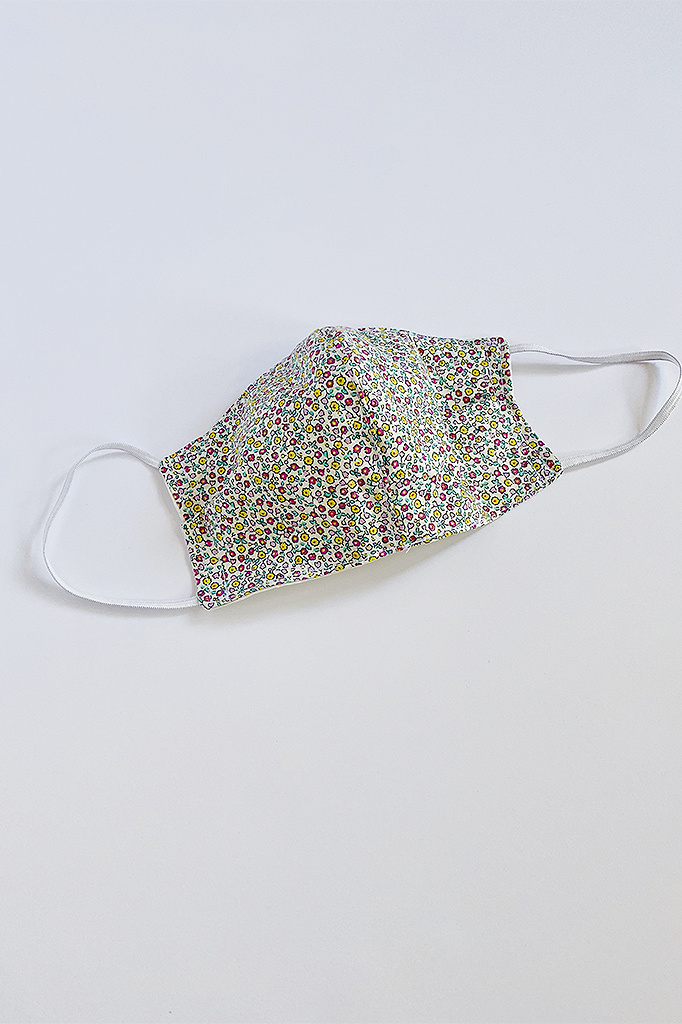 A. Cheng Women's Liberty Print Shaped Face Mask