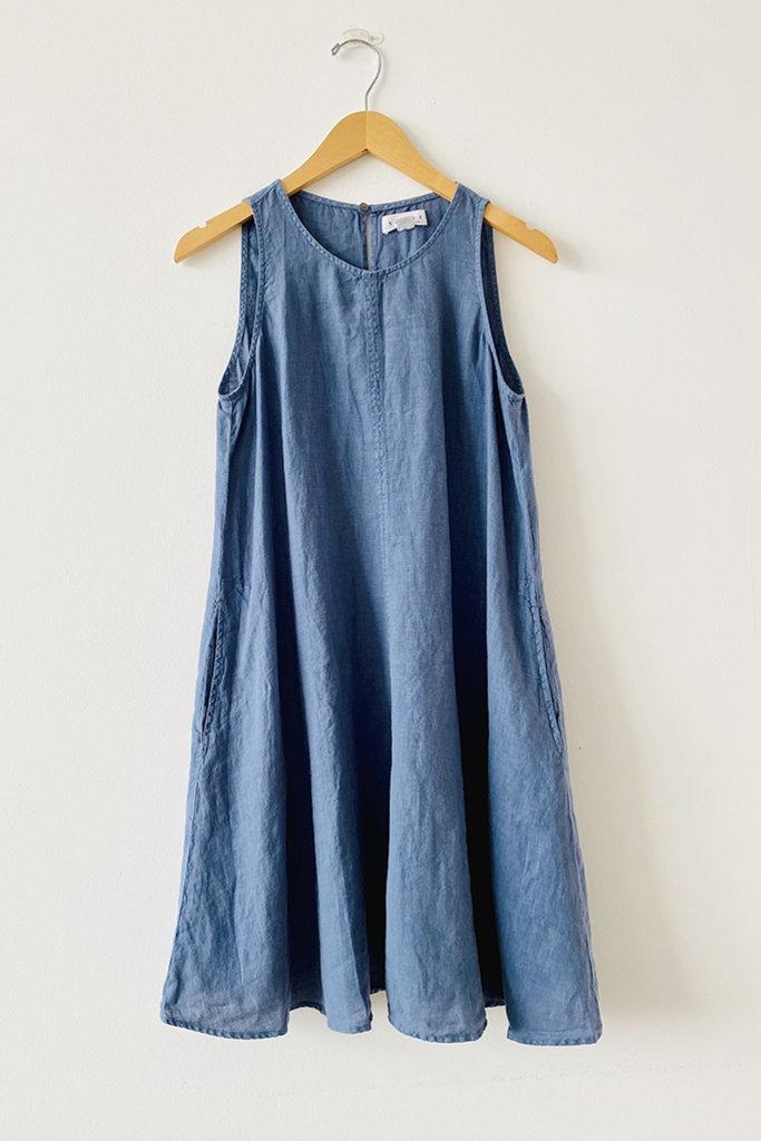 Velvet Velvet Label Adalina Linen Tank Dress - S
