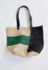 Mapoesie Ma Poesie Woven Raffia Hiva Bag