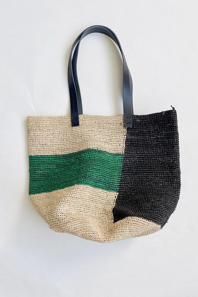Mapoesie Ma Poesie Woven Raffia Bag- Multiple Colors