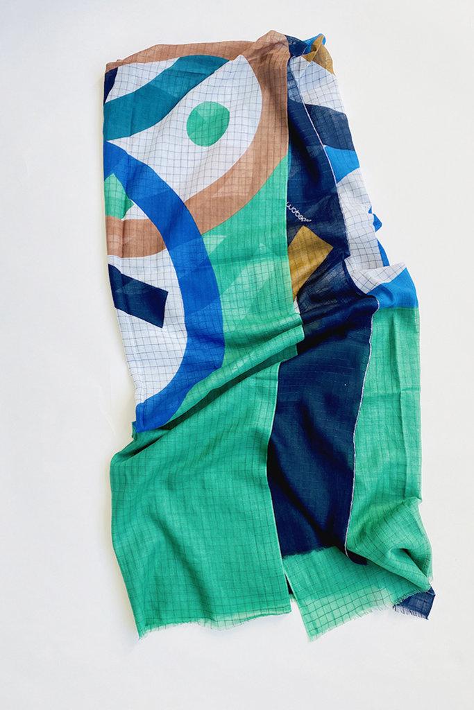 Mapoesie Ma Poesie Foulard Wrap-Multiple Colors