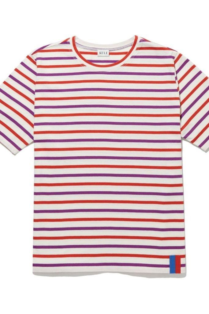KULE Kule Striped Modern Tee