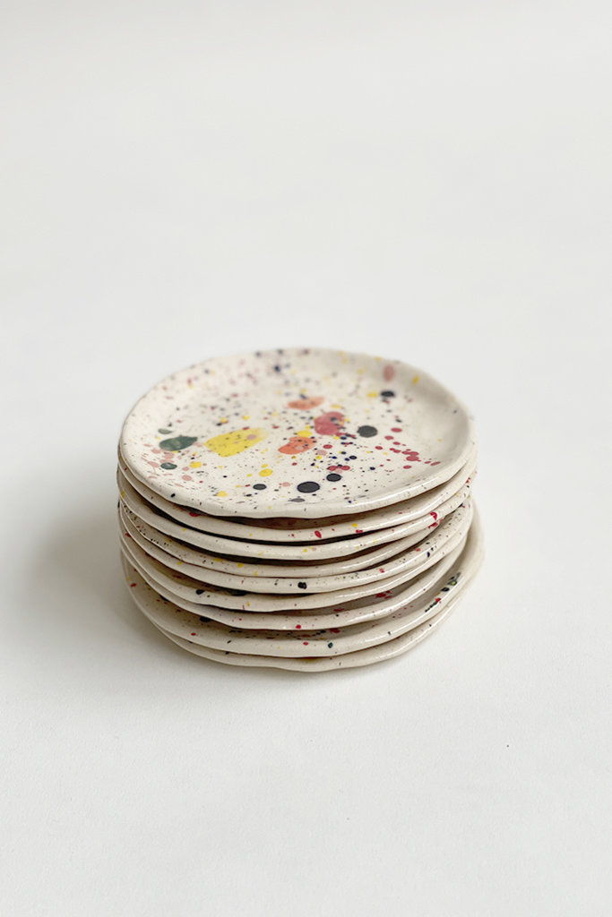 Alice Cheng Studio Paint Splatter Small Plates
