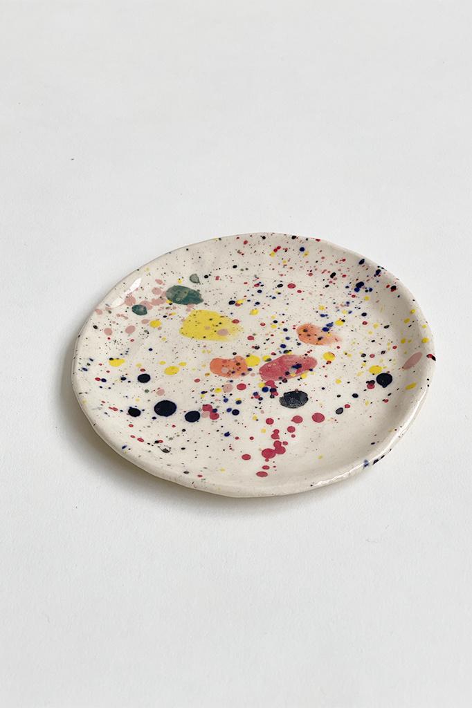 Alice Cheng Studio Paint Splatter Small Plates