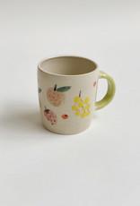 Alice Cheng Studio Fruit Mugs Hand Painted
