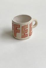 Alice Cheng Studio Handpainted Word Mugs