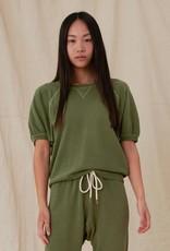 The Great Short Sleeve Puff Sweatshirt