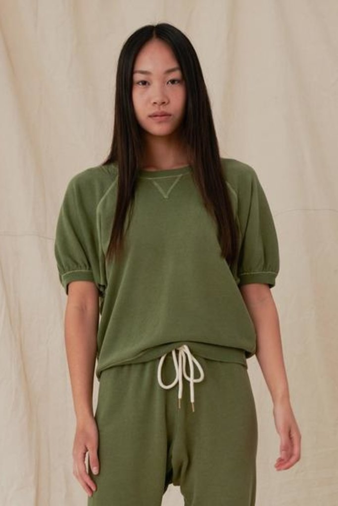 The Great Short Sleeve Puff Sweatshirt - Size 2