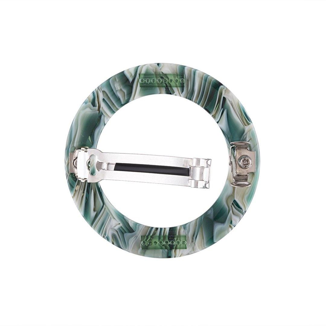 Machete No. 2 Heirloom Circle Hair Clip Stromanthe