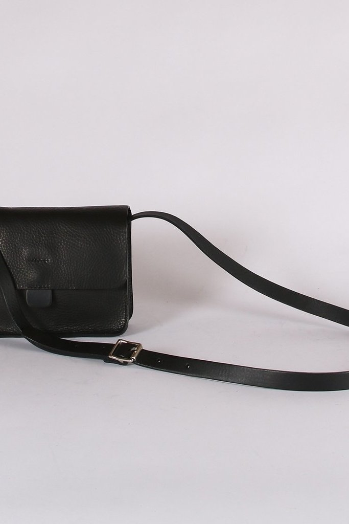 Kate Sheridan Italian Leather Crossbody Tab Bag