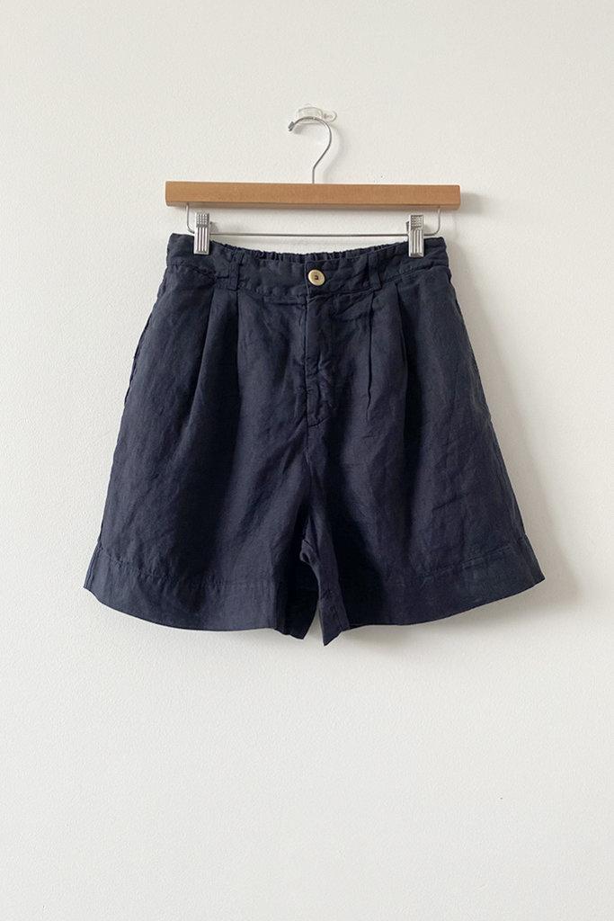 Stateside Bermuda Linen Shorts